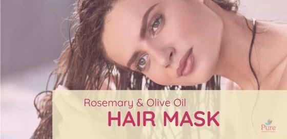 rosemary olive oil hair mask