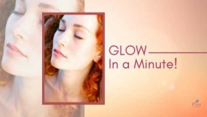 quickest glowing face mask