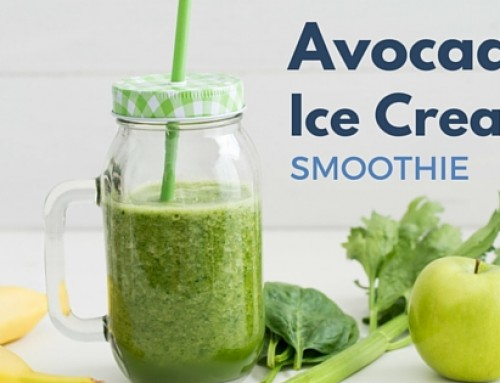 Avocado Ijs Smoothie
