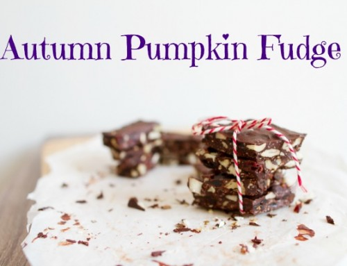 Autumn Pumpkin Fudge