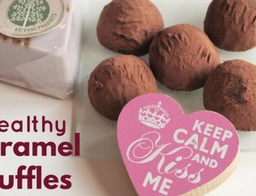 Healthy Caramel Truffles