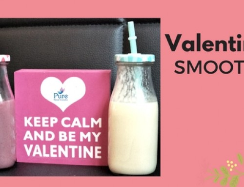 Healthy Valentine's Day Smoothie