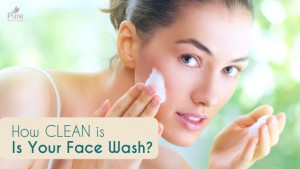 face wash clean