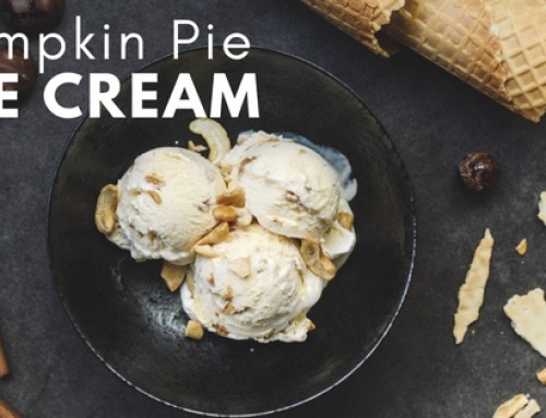Vegan Pumpkin Pie Ice Cream