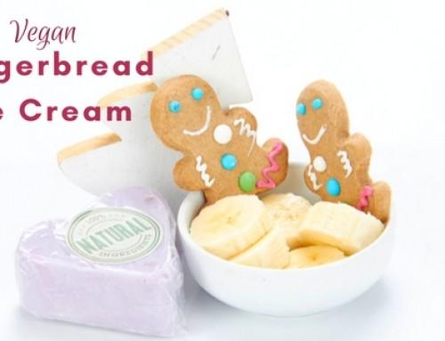 Vegan Gingerbread Ice Cream