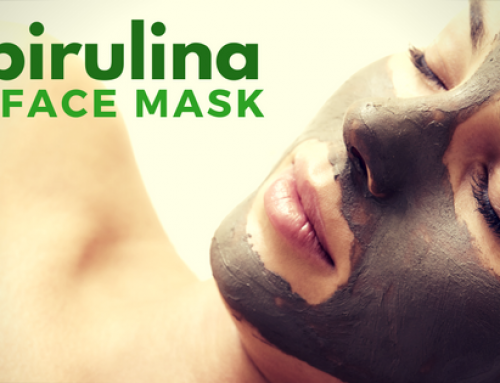 A Superfood Spirulina Face Mask For Blemish Free Skin