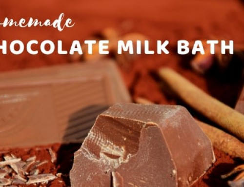 Homemade Chocolate Milk Bath