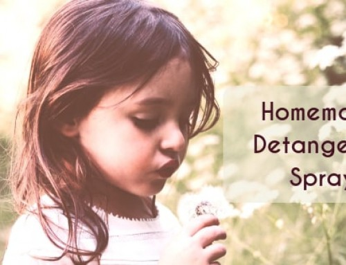 Homemade Detangling Spray for Hair (No Tears, No Fears)