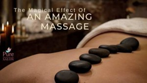 A massage therapy