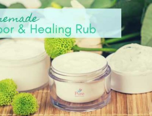 DIY Vapor Rub And Healing Salve