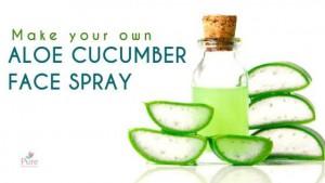 Aloe Vera Cucumber Makeup Setting Spray