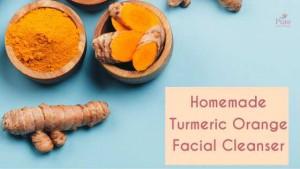 Turmeric Orange Facial Cleanser